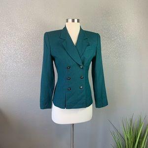 Petite Sophisticate vintage houndstooth jacket 0
